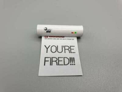 DeLorean 1:8 scale Your fired Fax Machine & Document