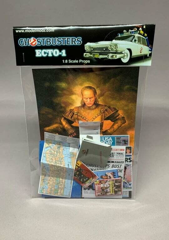 Ghostbusters 1:8 Scale Ecto-1 Miniature Paper Props