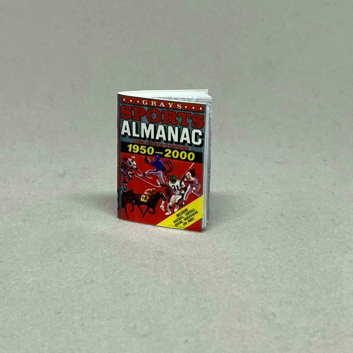 Delorean 1:8 scale Sports Almanac & Receipt