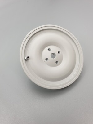 Delorean 1:8 scale Spare wheel cover