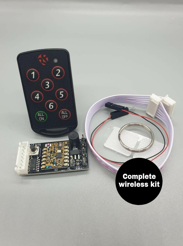 DeLorean 1:8 scale Wireless 1 to 6 Switch Kit