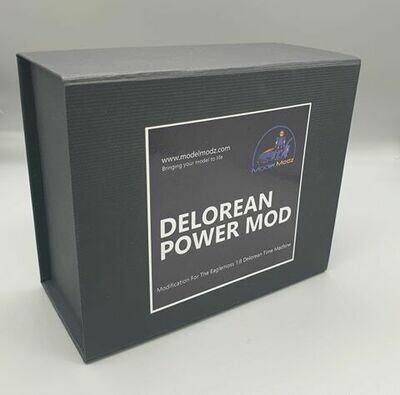 Delorean 1:8 scale Worldwide Power Mod