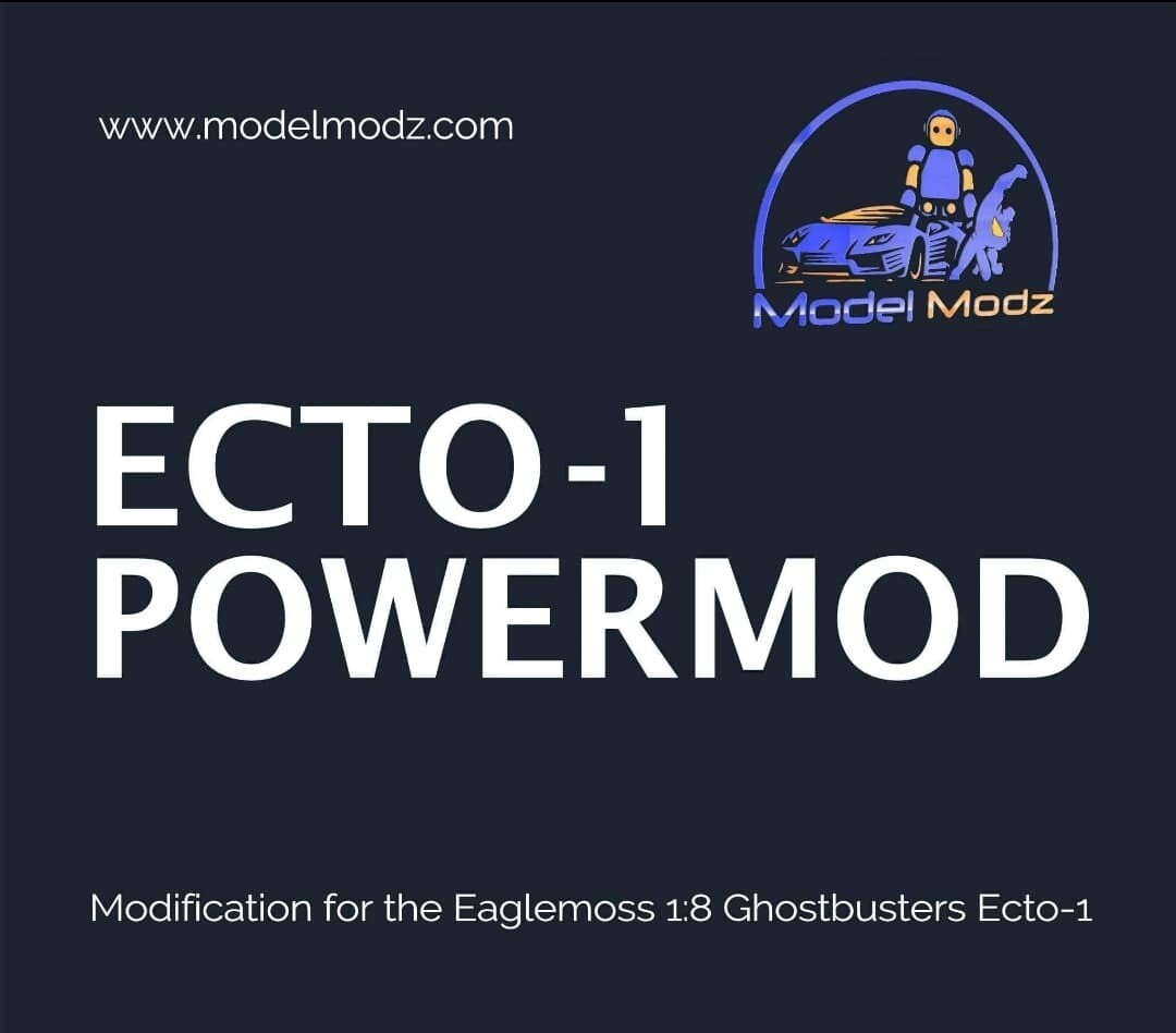 Ghostbusters 1:8 Scale Ecto-1 Power-Mod