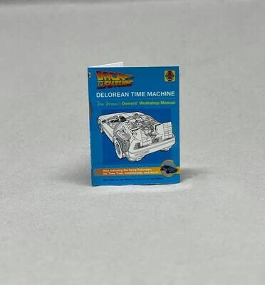1:8 scale DeLorean Time Machine Haynes Manual
