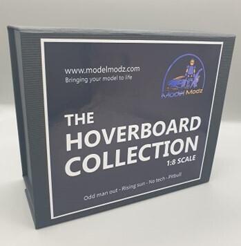 DeLorean 1:8 scale Complete hoverboard collection