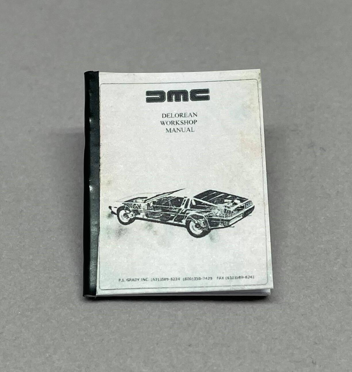 1:8 scale DeLorean Workshop Manual