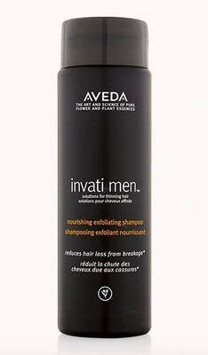 invati men™ nourishing exfoliating shampoo 250ml