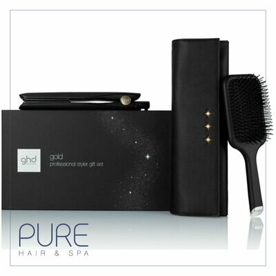 ghd gold® hair straightener gift set