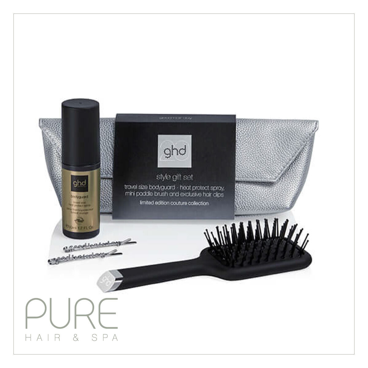 NEW! ghd 20th anniversary style gift set