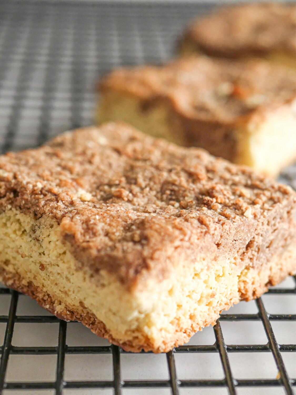 Cinnamon Keto Coffee Cake