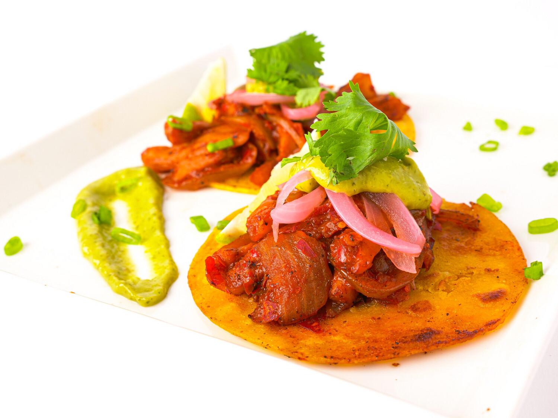 Jackfruit Al Pastor Street Tacos