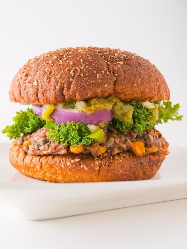 Southwestern Vegan Burger