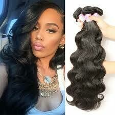 """1B 22"""" Remy Body Wave 100 grams Weft Hair"""