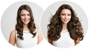 Halo Type Hair Extensions