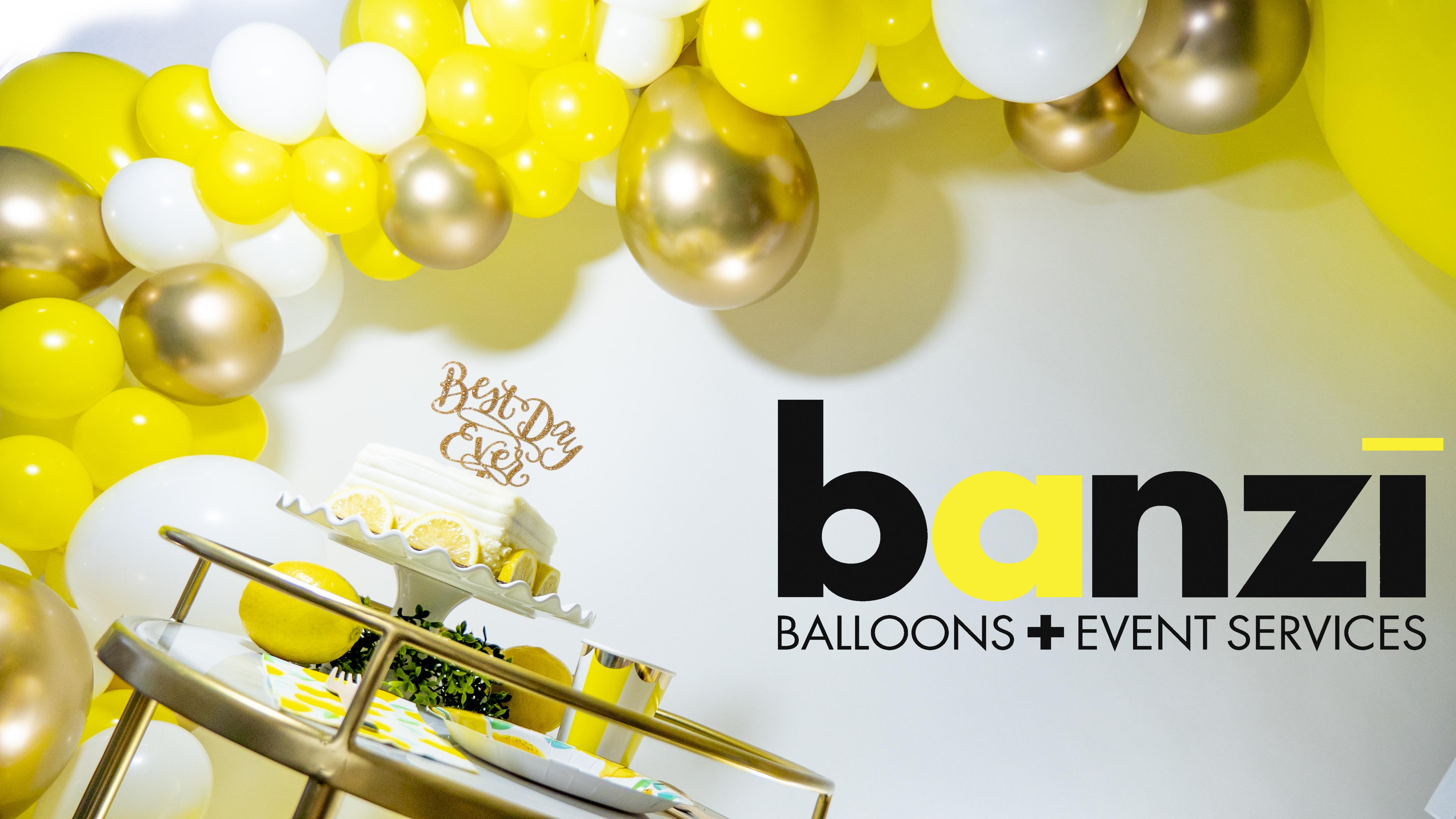 Diy Lemon Drop Organic Balloon Garland Kit Accessories