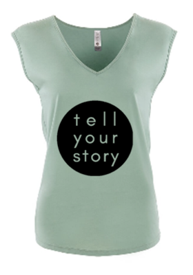Tell Your Story Tshirt