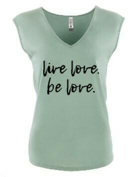 Live Love. Be Love Tshirt