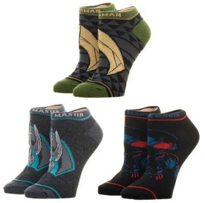 Aquaman Ankle Socks 3 Pack