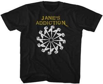 Janes Addiction Lady Wheel Tee