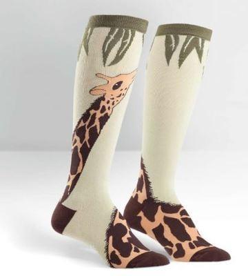 Knee High Giraffe Socks