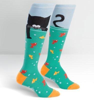 Gone Fishin Knee High Socks