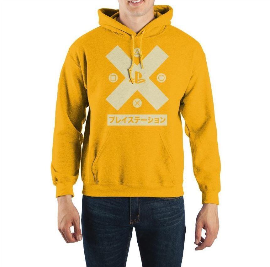 Sony Playstation Yellow Hoodie