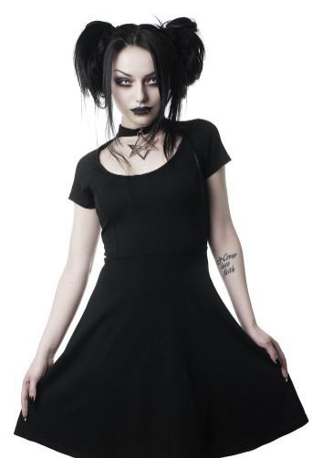 Sacred Sixx Skater Dress