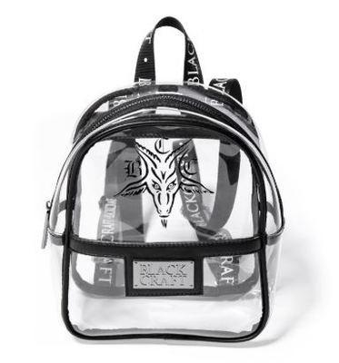 BCC Goat Clear Festival Mini Backpack