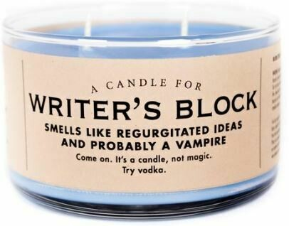 Writers Block Candle