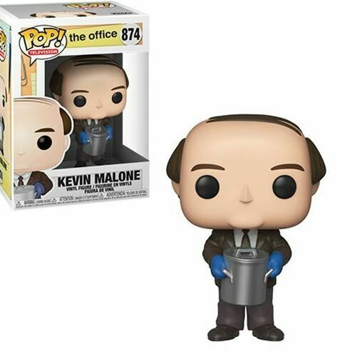 Kevin Malone With Chili Pop