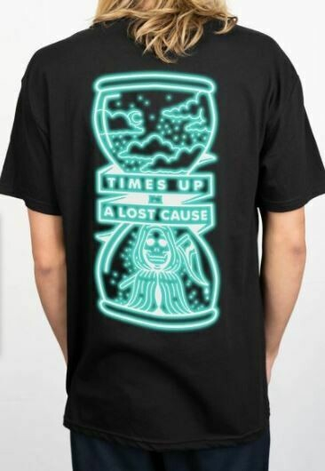 Times Up Tee Black