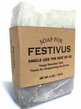 Festivus Soap
