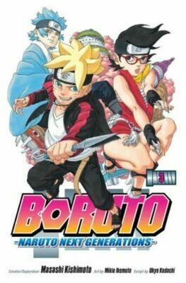 Borunto Naruto Next Generations Volume 3