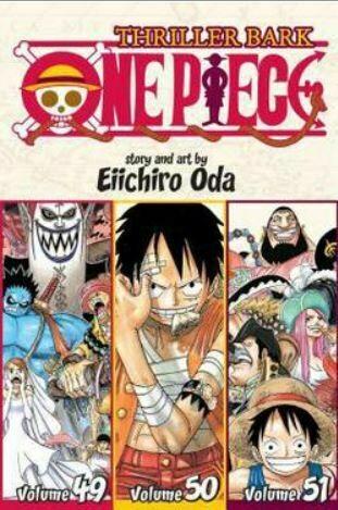 Thriller Bark One Piece Volume 49,50,51