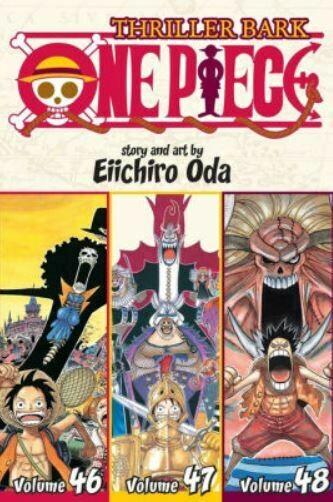 Thriller Bark  One Piece Volume 46,47,48