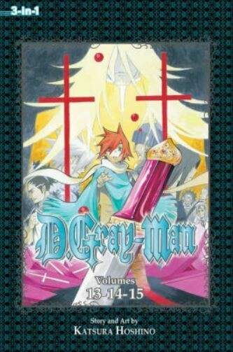 D.Gray-man Volumes 13,14,15