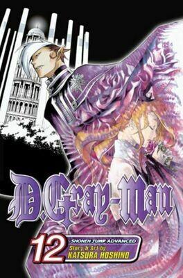 D.Gray-Man Volumes 10,11,12