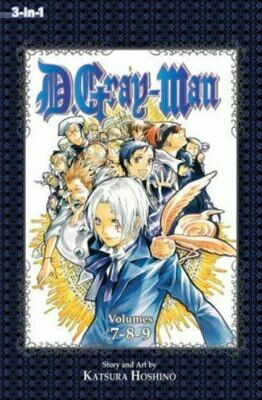D.Gray-Man Volume 7,8,9