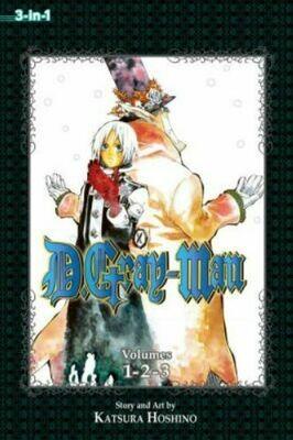 D.Gray-Man Volumes 1,2,3