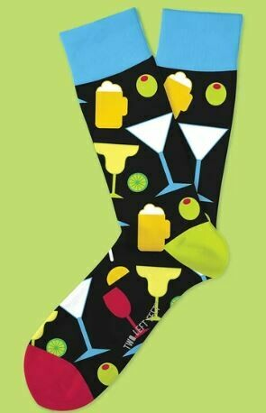 Happy Hour Socks