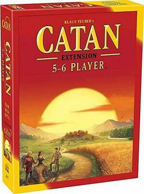 Catan Ext: 5-6 Players