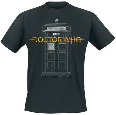 13th Doctor Tardis Tee