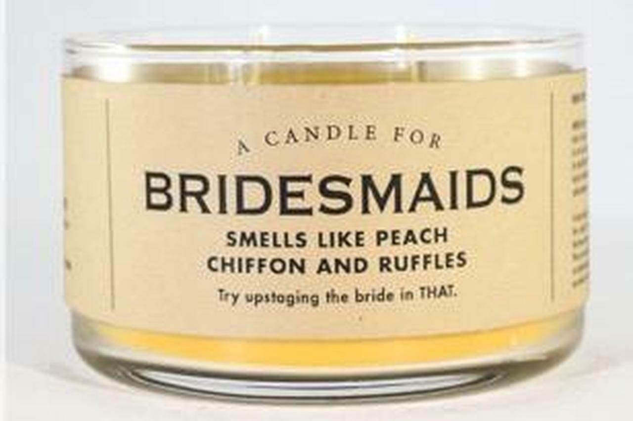 Bridesmaids Candle