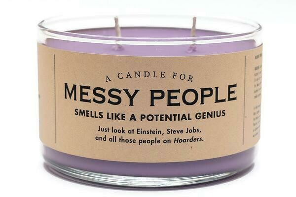Messy People Candle