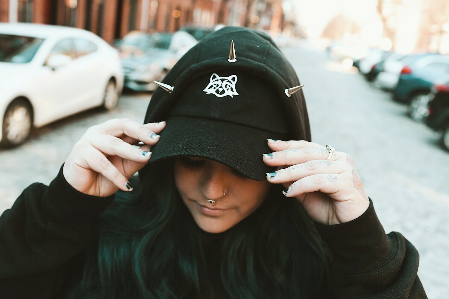 Trash Panda Logo Dad Hat