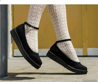 Ballet Ankle Strap Creeper