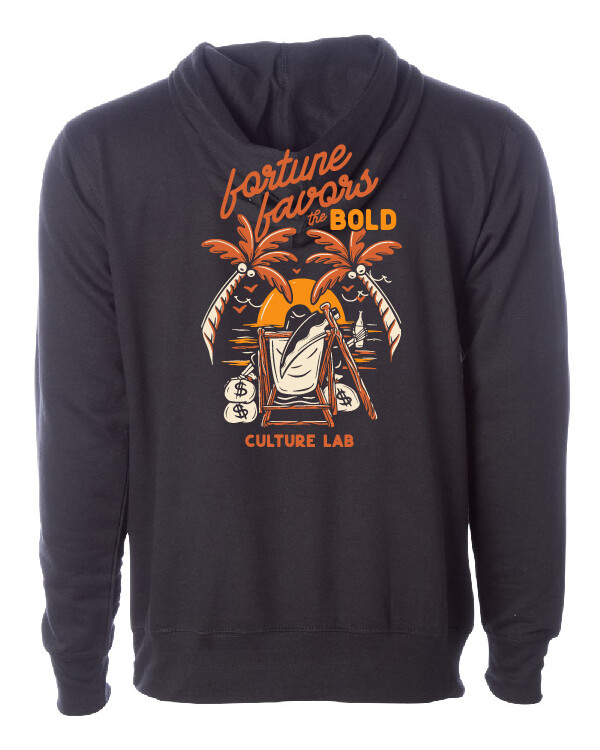 Fortune Favors The Bold Hoodie V2