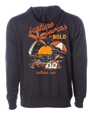 Fortune Favors The Bold Hoodie V1