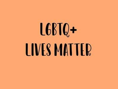 LGBTQ+ Lives Matter Tee