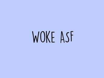 Woke ASF Tee